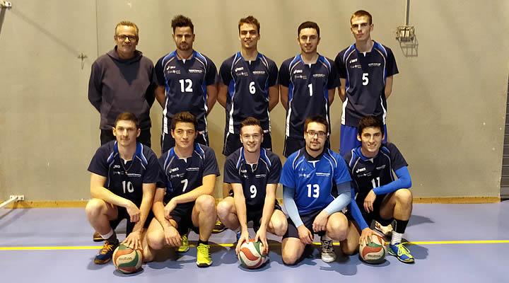 Volley-Ball - Équipe 1 : Séniors - étendard de la Talaudière