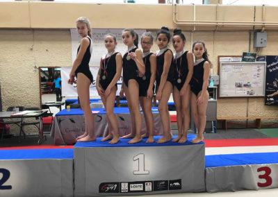 L'étendard de la Talaudière - Gym filles FFG