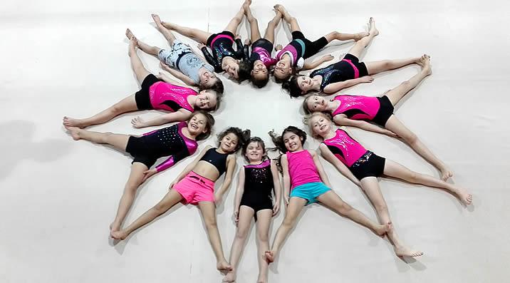 Initiation à la gymnastique féminine - étendard de la Talaudière