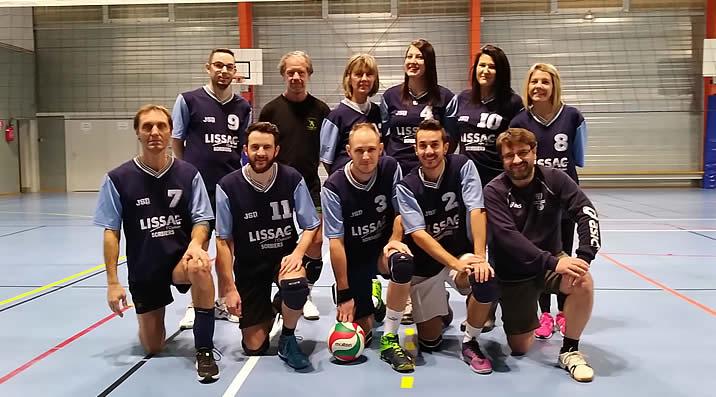 Volley-Ball - Équipe 3 : Loisirs - étendard de la Talaudière