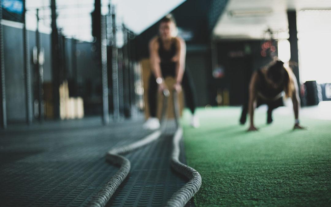 Renforcement musculaire et circuit training à l'étendard